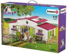 Schleich Riding Centre With Rider & Horses 42344 - Horse Playset -  New