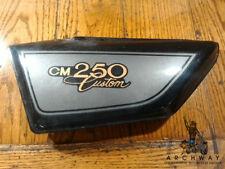 1981-83 HONDA CM250C CM250 CUSTOM LEFT SIDE COVER OEM #83640-KC4-0000