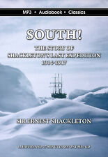 South: The Story of Shackleton's Last Expedition MP3CD Audiobook in DVD case