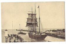 LITTLEHAMPTON Outward Bound Sailing Boat, Old Postcard Unused, Arun Series