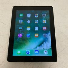 "Apple iPad A1458 4th Gen. 16GB, Wi-Fi, 9.7"" - Black (MD510LL/A) iPad Only TESTED"