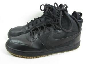 Nike Ebernon Mid Duck Boot Men size 11 Black Gum