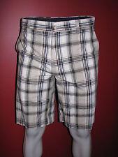 VAN HEUSEN Studio Men's Straight Slim Leg Plaid Shorts - Size 30 - NWT