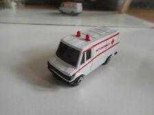 MC Toy Mercedes 307D Rettungswagen in White