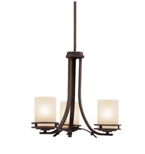 Hendrik - 3 light Chandelier - with Soft Contemporary inspirations - 16.75