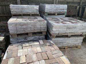 Reclaimed paving bricks - £2 Each