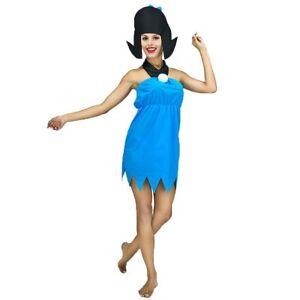 The Flintstones 80s TV Cartoon Betty Rubble Womens Cavewoman Fancy Costume