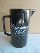 älterer Whiskey Wasserkrug Krug jug Canadian Club The spirit of Whisky Kanne (1)