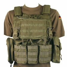 Bulle Tan MOLLE Webbing Tactical Armour Carrier Vest with Mag Pouch Set