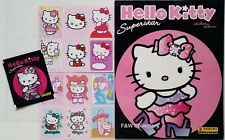 PANINI HELLO KITTY SUPERSTAR - STICKER COLLECTION ALBUM & 17 STICKERS NEW