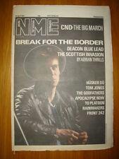 NME 1987 APR 25 DEACON BLUE RICKY ROSS CND HUSKER DU