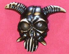 Skull with Horns Shape Pendant only for Necklace Jewellery New Tribal inspired