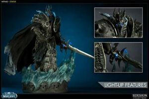 💎 Sideshow Collectibles BLIZZARD Ent. EMPLOYEE EDITION #'d/250 ARTHAS LICH KING