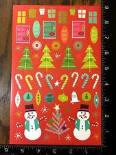 CHRISTMAS STICKERS - BY DARICE - ONE SHEET OF BEAUTIFUL STICKERS - #BELEN01