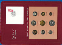 Coin Sets of All Nations USSR Russia w/card UNC all 1979