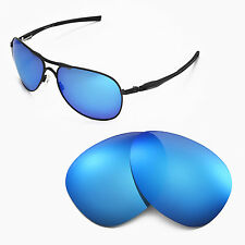 New WL Polarized Ice Blue Replacement Lenses For Oakley Plaintiff Sunglasses