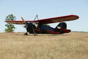 Giant 1/5 Scale Aeronca C-3 Plans and Templates 81ws