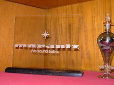 MARANTZ (VINTAGE LOGO) ETCHED GLASS HOME AUDIO SIGN