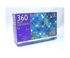 360 Blue Super Bright LED Christmas Xmas Lights Chasing
