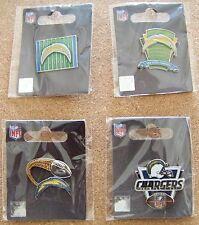 4 - 2013 SD San Diego Chargers pins lapel pin NFL field glitter trail