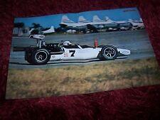 Poster d'époque double page EAGLE Ford Mk V Formule A Sebring 1969 Adamowicz //