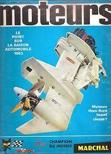 MOTEURS 38 1963 24H DU MANS 500 INDY GP ACF TARGO FLORIO 404 CAB INJ VOLVO 132