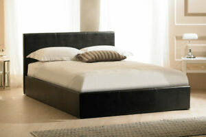 Faux Leather Ottoman Gas Lift Storage Bed, Multi Colors, Double, 6FT, 4FT, 5FT