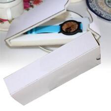 Fashion White Watch Box Storage Travel Case Fold Women Watch Spooge Slot Case GA