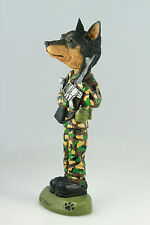 Army Min Pinscher-See Interchangeable Breeds & Bodies @ Ebay Store