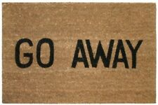 Kempf Go Away Doormat, 16 by 27 by 1-Inch, New, Free Shipping
