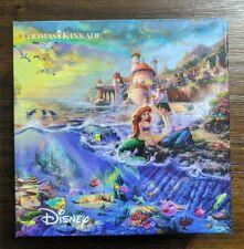 Ceaco Disney Thomas Kinkade 750 Piece Puzzle/The Little Mermaid/2005/COMPLETE!