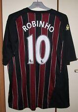 Manchester City 2008/2009 Away shirt jersey Le Coq Sportif  #10 Robinho