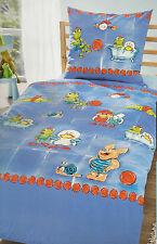 Kinderbettwäsche Edel-Linon Dormia Froschkönig Frosch 135 x 200 cm Baumwolle