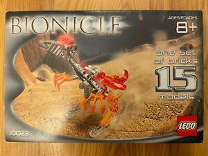 LEGO BIONICLE 10023 Rahi Master Builder Set - Employee Collection - new & sealed