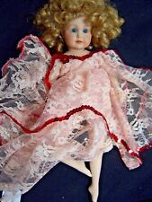 "Reproduction 8"" Kammer Reinhardt Simon Halbig Ruth 117/51 Bisque Doll Girl"
