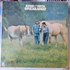 KRIS KRISTOFFERSON & RITA COOLIDGE LP BREAKAWAY 1974 EUROPE VG++/VG++