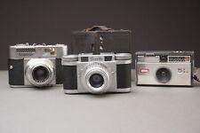 lot of 4x vintage film cameras: Kodak, Brown Paxette, Voigtlander ✅