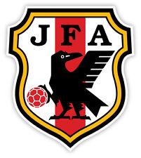 "JFA Japan 日本 Japon National Football Association JFA sticker decal 4"" x 5"""