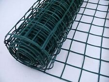 Plant Support Netting 1x5m Plastic Garden Fencing 50mm Hole Mesh Clematis Net