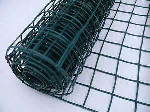 Plastic Mesh Fencing | 50mm Holes | 1m x 10m | 280g/m2