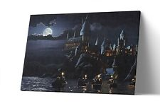 Hogwarts Canvas Print Harry Potter Wall Art Poster Painting Artwork Decor