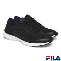 FILA ATHLETIC MEN'S NAVY / BLACK Shoes Trainers UK Sizes