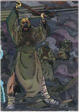 STAR WARS TOPPS GALAXY SERIES 3 ETCHED FOIL INSERT SINGLE 17 SAND PEOPLE