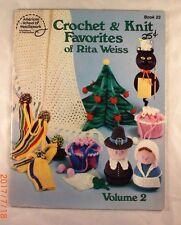Crochet & Knit Favorites of Rita Weiss Volume 2 -  ASN Book 23 - 22 Patterns