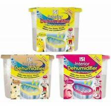 Scented Dehumidifier Air Freshener Interior Wardrobe Damp Mildew Remover Absorb