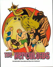 The HERCULOIDS PROMO PRINT Hanna Barbera Igoo Zandor Gloop Gleep Zok