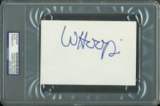 Whoopi Goldberg Authentic Signed 4X6 Index Card Autographed PSA/DNA Slabbed