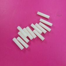 12 of m3 x 25mm Nylon standoffs Hex
