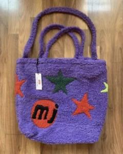 Marc Jacob × Cactus Plant Flea Market CPFM Tattoo Tote Bag Fleece Purple Star