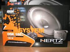 HERTZ DSK 165 .3 KIT CASSE 2 VIE SEPARATO 2 Woofer 16,5cm + 2 Tw + 2 CROSSOWER